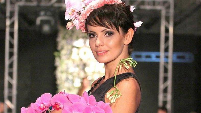 Dorota Gardias jako modelka