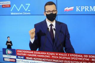 Morawiecki proponuje 10 działań dla firm objętych restrykcjami. Wśród nich m.in. wydłużone postojowe i zwolnienie ze składek