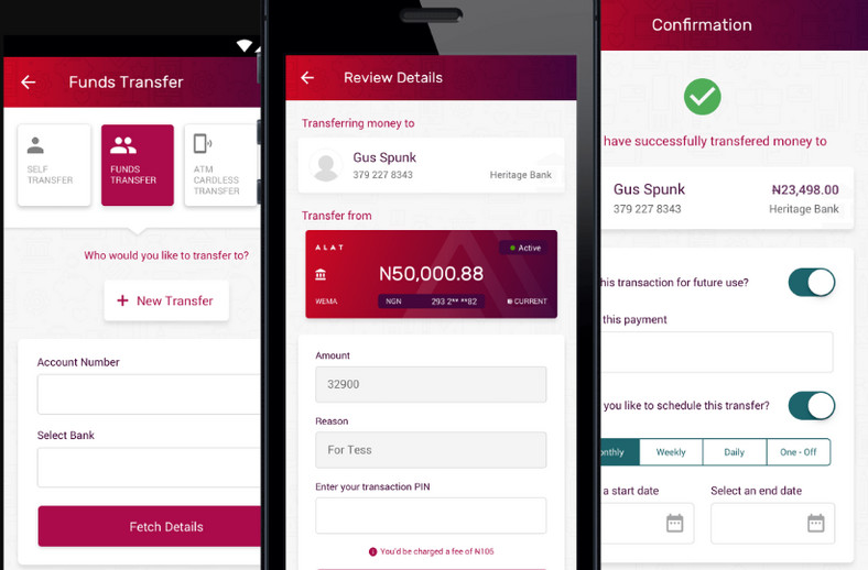 Investment app in Nigeria - Wema Bank Alat