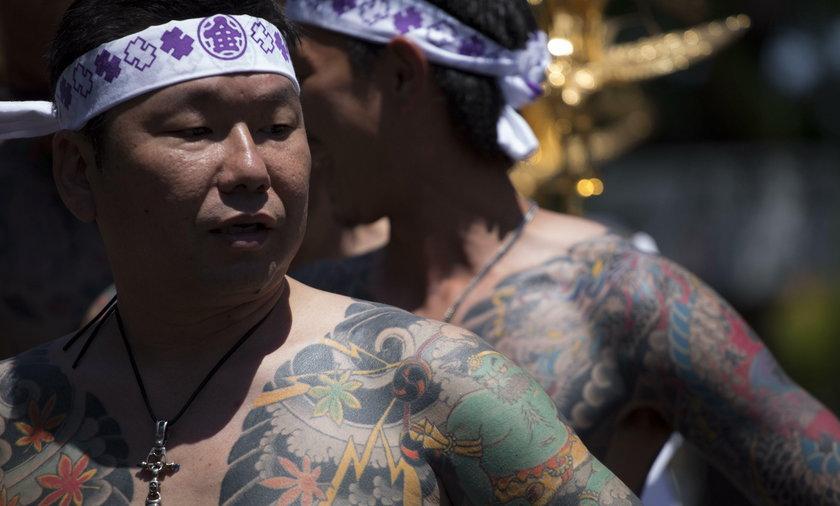 Człowiek yakuzy