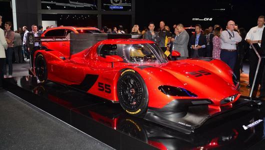 Mazda RT24-P - zjawiskowa wyścigówka | LA Auto Show 2016