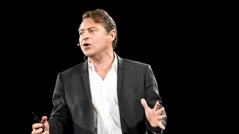 "Peter Diamandis, założyciel i prezes Xprize Foundation i autor książki ""Abundance: The Future Is Better Than You Think"""