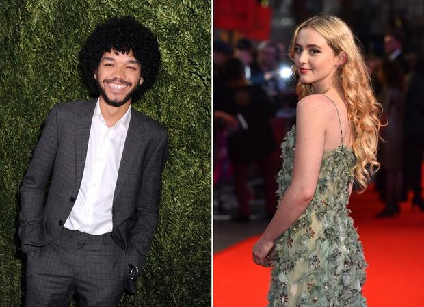 Justice Smith és Kathryn Newton