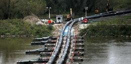 Ścieki wrócą do Wisły. Trwa demontaż mostu pontonowego