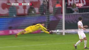 Bayern - Werder: drugi gol Lewandowskiego