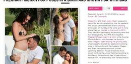 Megan Fox pokazała brzuszek. Jest w ciąży!