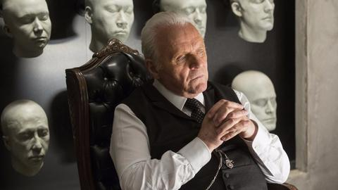 "Anthony Hopkins w serialu ""Westworld"""