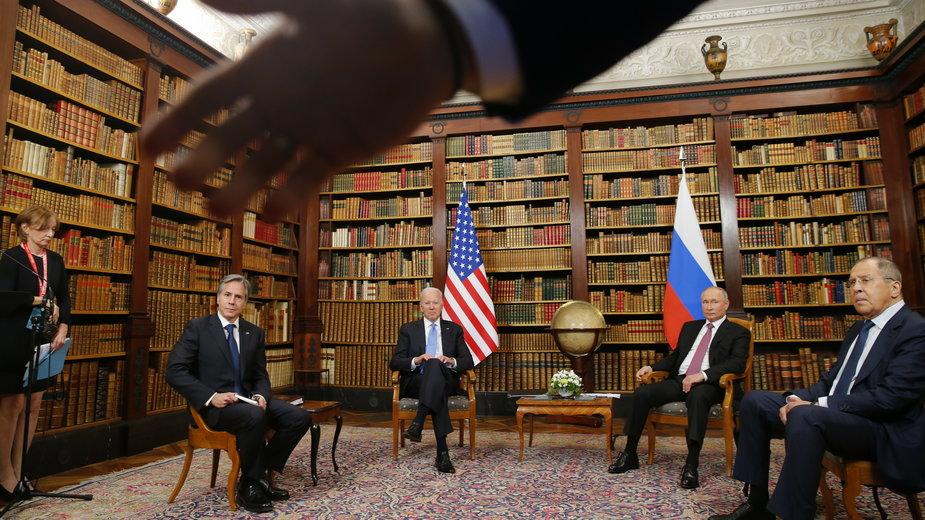 Spotkanie Joego Bidena i Władimira Putina