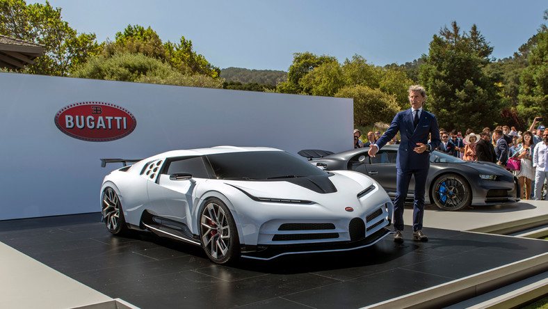 """With the Centodieci, we pay homage to the EB110 super sports car which was built in the 1990s and is very much a part of our tradition-steeped history,"" President of Bugatti Stephan Winkelmann said in a prepared statement."