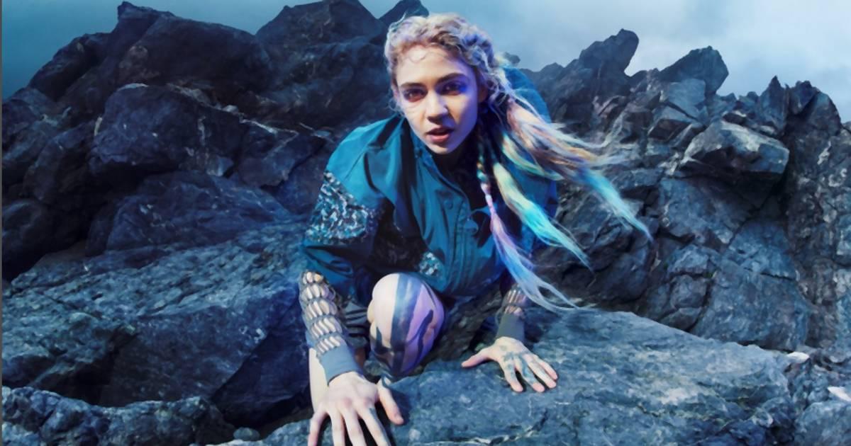Grimes ist das neue Gesicht der Herbst-Kollabo von Adidas und Stella McCartney