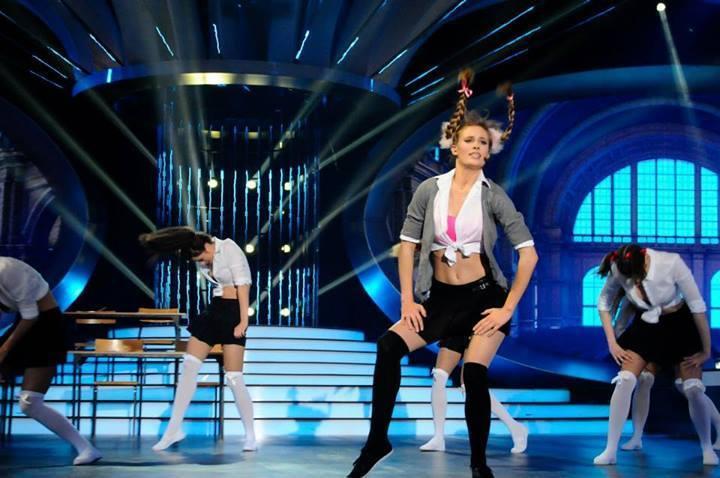 Julia Pietrucha jako Britney Spears