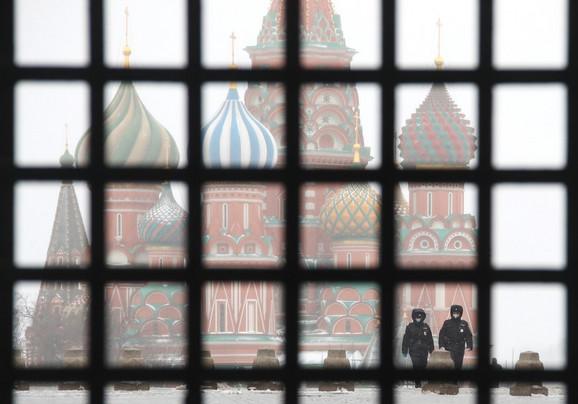 Policija u Moskvi