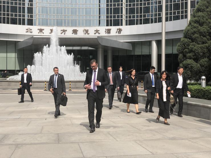 Vučić u Pekingu