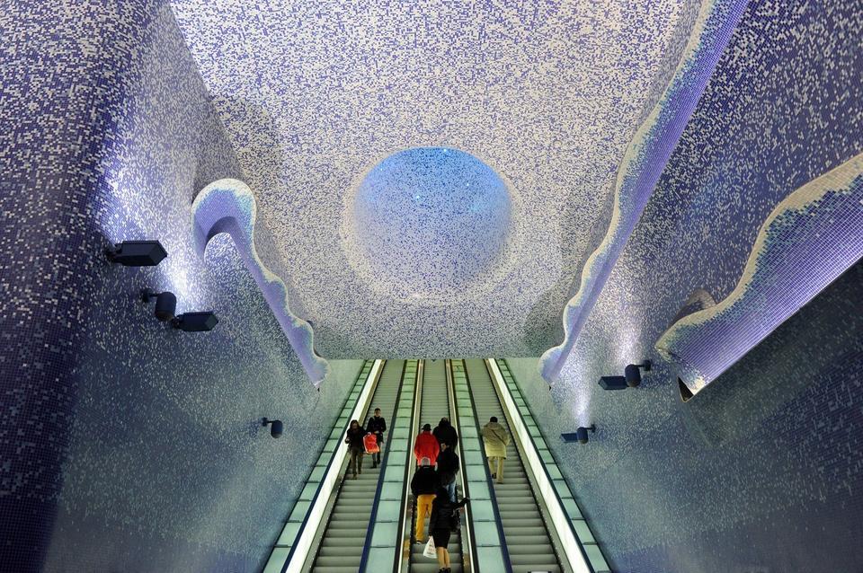 Stacja Toledo w Neapolu, we Włoszech