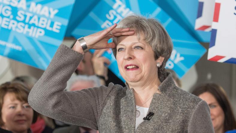 """May: po wyjściu z UE nie będzie już w przypadku Wielkiej Brytanii """"swobody przemieszczania się, takiej jak w przeszłości"""""""