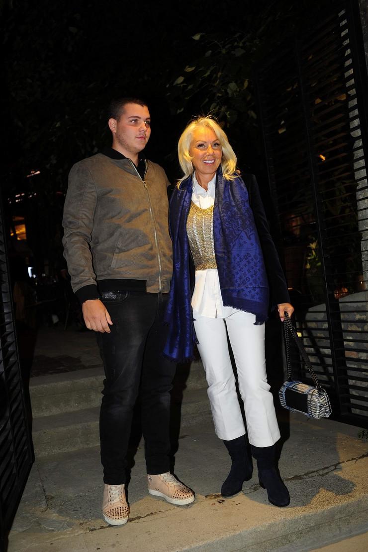 Lepa Brena i Viktor Živojinović