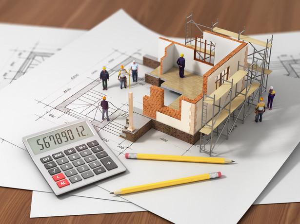 Większość badanych podczas zakupu nowego domu skorzystała z kredytu.