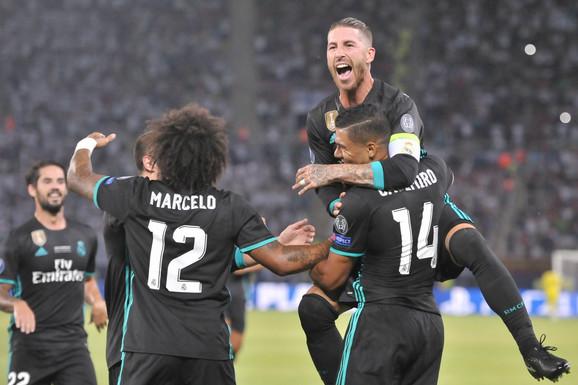 Marselo sa saigračima u Real Madridu