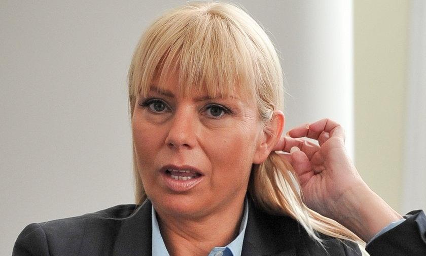 Minister Elżbieta Bieńkowska.