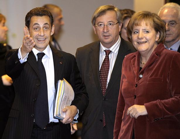 Nicolas Sarkozy i Angela Merkel