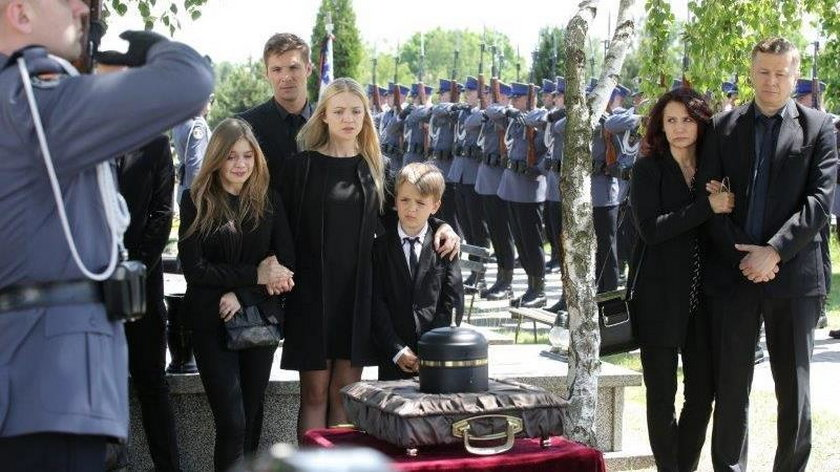 """Pogrzeb w """"M jak miłość"""""""