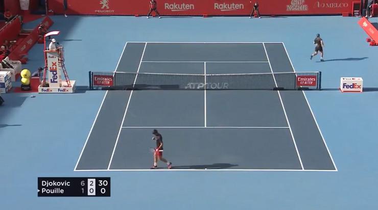 Novak Đoković i Luka Puj na turniru u Tokiju