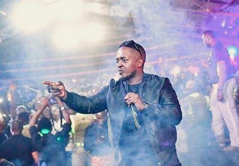 MI Abaga performing at a concert [Instagram/MI]
