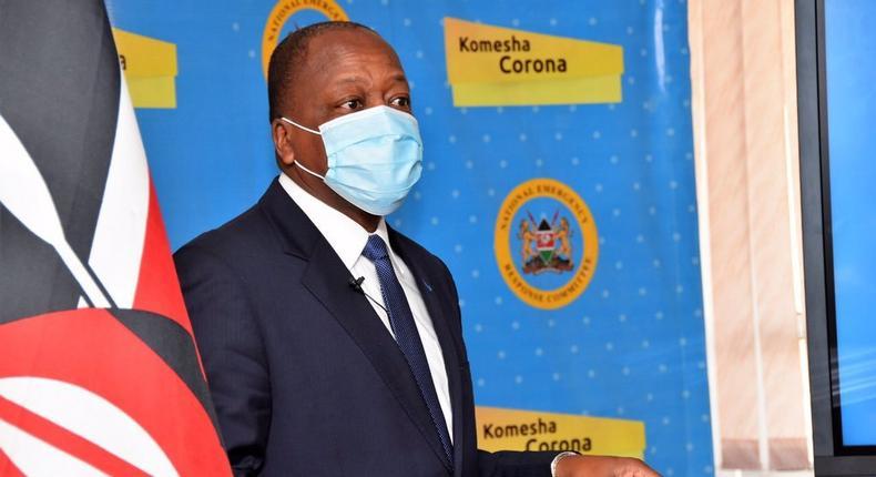 New Covid-19 record as Kenya crosses 8,000 mark - Health CS Mutahi Kagwe
