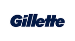 """Gillette – Jeśli przyjrzysz się dokładnie """"G"""" i """"i"""" w tym logo, zauważysz, że obie litery zostały równo przycięte – jak po przejechaniu żyletką."""