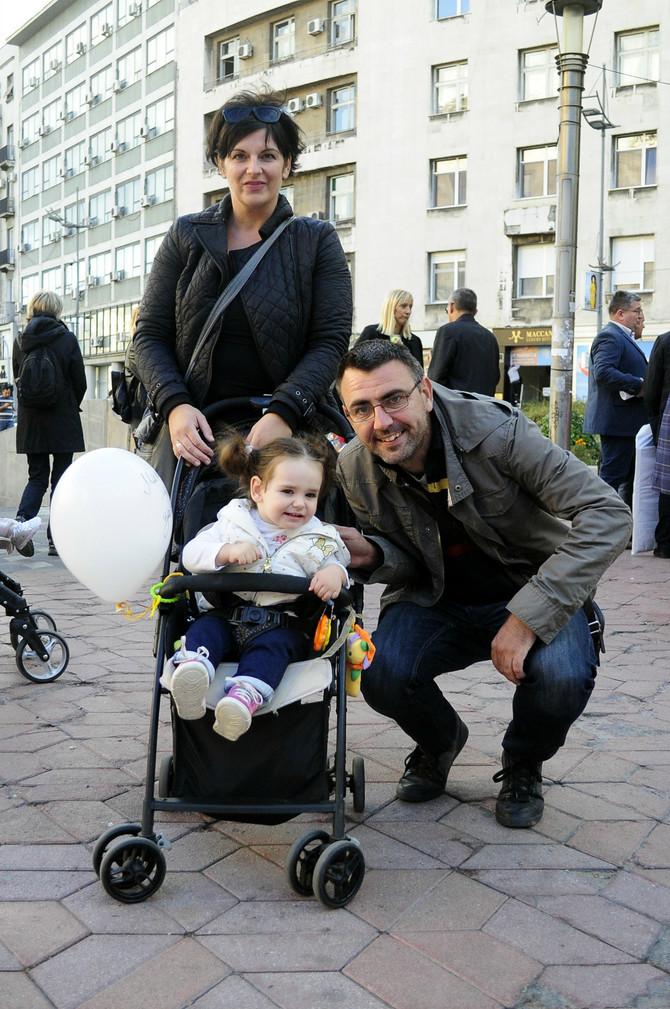 I Teodorin tata Slobodan je podržao Danijelu i druge mame i trudnice