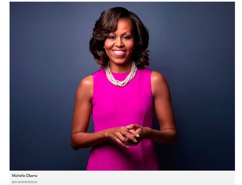 Michelle Obama, fot. screen z people.com
