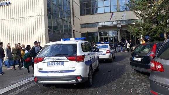 Tuča na fakultetu u Nišu