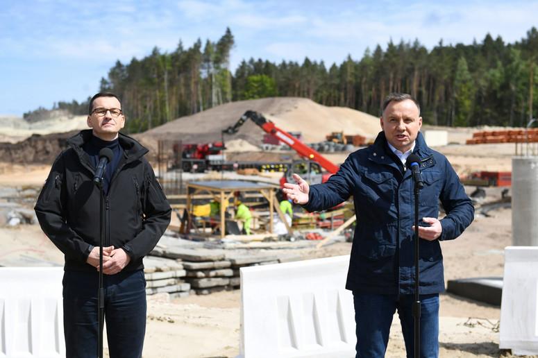Prezydent o przekopie Mierzei Wiślanej: Chcemy nadal realizować ...
