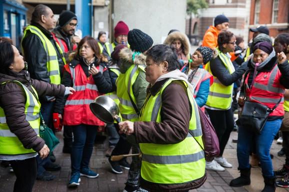 Protest zdravstvenih radnika u novembru prošle godine