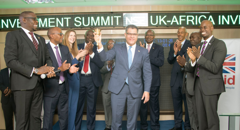 Kenya's first green bond worth Sh43 billion starts trading at the Nairobi Securities Exchange. (Twitter/NSE_PLC)