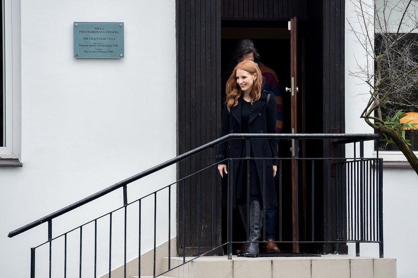 Jessica Chastain w Polsce