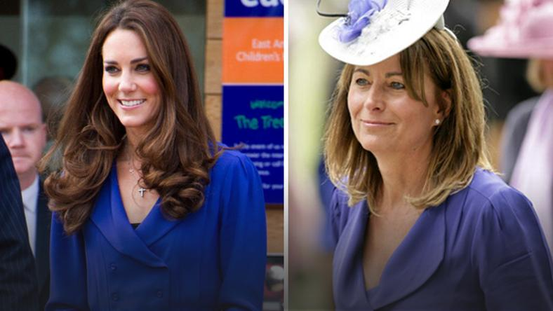 Kate i Carole Middleton