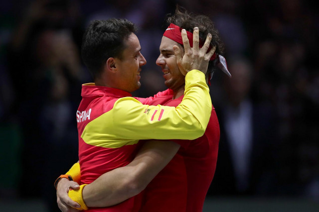 Roberto Bautista-Agut i Rafael Nadal