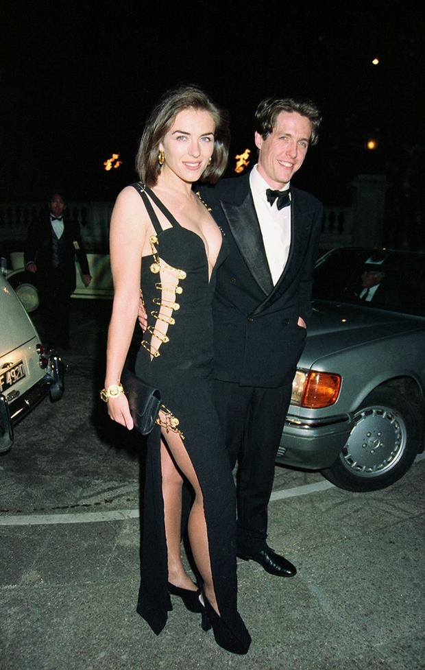 """That dress"" Elizabeth Hurley"