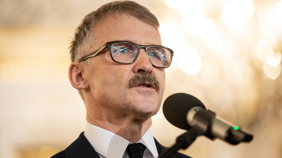 Leszek Mazur, były już przewodniczący Krajowej Rady Sądownictwa