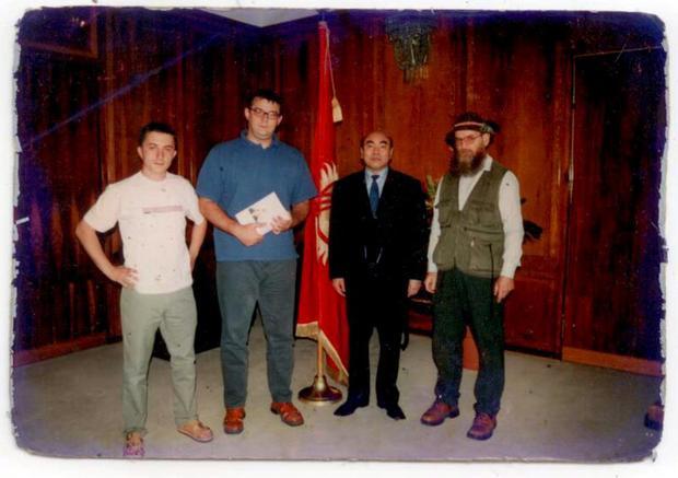 Spotkanie z Askarem Akajewem, prezydentem Kirgistanu