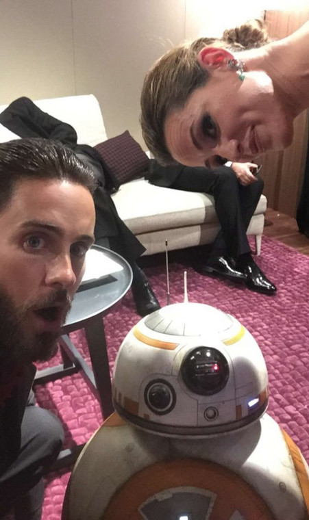 Jared Leto, Jennifer Garner i BB-8