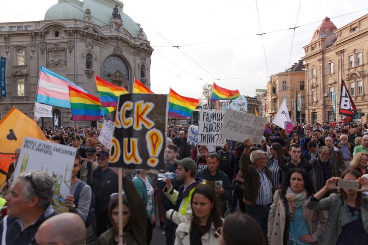 Savamala protest foto vladimir zivojinovic (7)