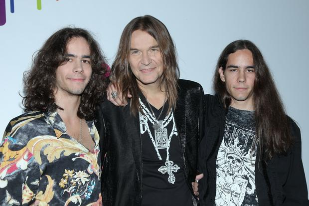 Robert Gawliński z synami