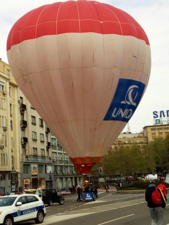Baloni na Trgu Nikole Pašića