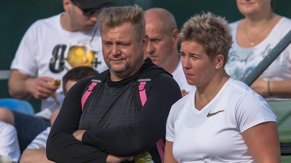 Andrzej Kaliszewski i Anita Włodarczyk