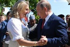 Vladimir Putin i Karin Knajsl