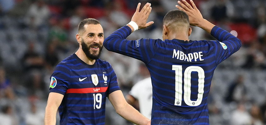 Karim Benzema i Kylian Mbappe. Mieli niszczyć rywali, a nie mają gola