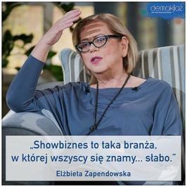 Elżbieta Zapendowska: kiedyś to była miłość, teraz to jest jak po 35 latach