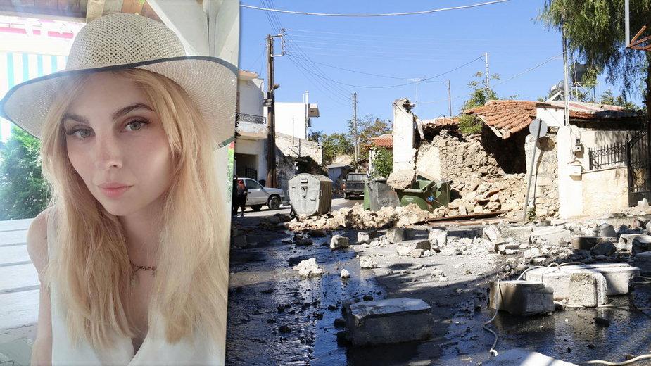 Polka o trzęsieniu ziemi na Krecie